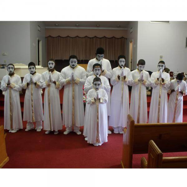 Chosen Mime Members of Rivers of Life Church Ministry