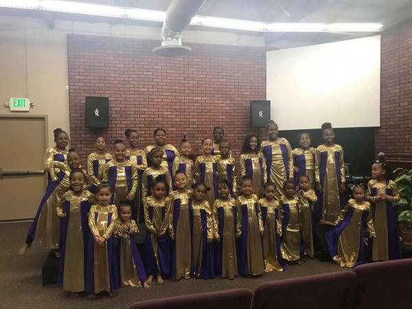 Greater Christ Temple Youth Ministry Praise dance Ministry  under the directions of Jazmene Dockery