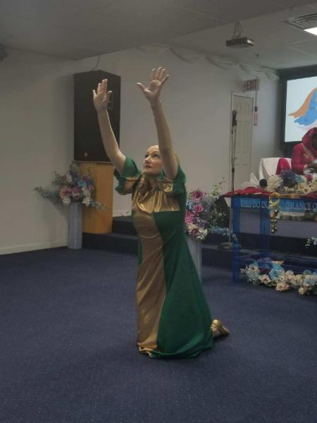 Worship dance in New York
