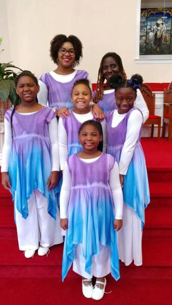 Victory Praise Dancers Anniversary