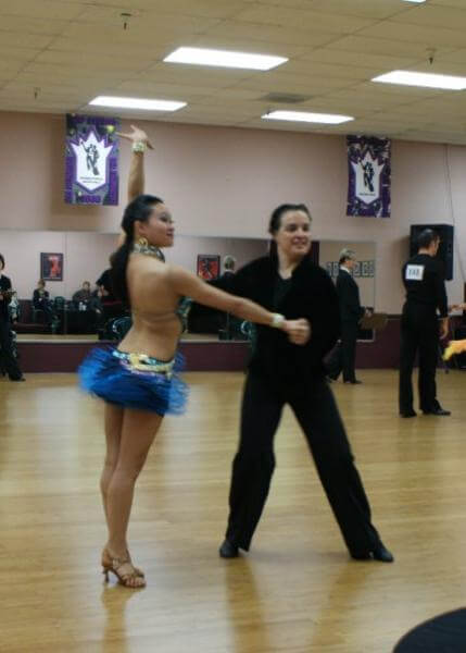 Latin Dance Competition. Sacramento, CA