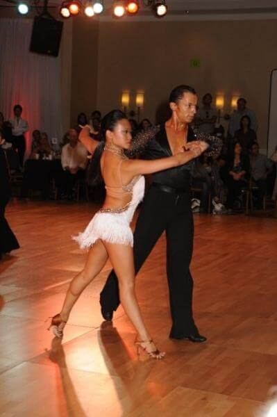 Paso Doble Ballroom Competition. San Francisco, CA.