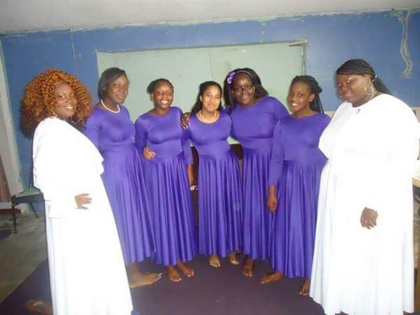 Oracle of God Intl ministries praise dancers