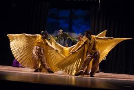 A Guyanese Dance Group Performed Praise Dance using AQY Angel Wings