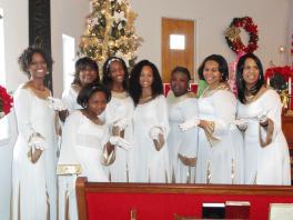 Angel Visits Baptist Church - Annual Christmas Fellowship