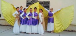 Our dance team after performing at a women conference (Deboras 2015)