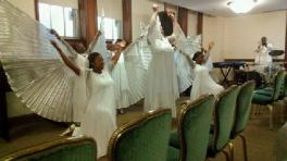 Praise in Motion on Pentecost Sunday