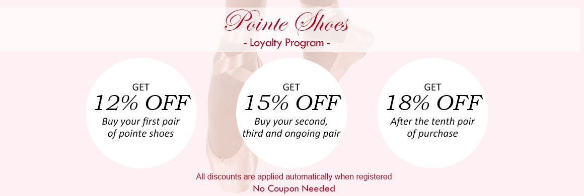 pointe shoes program