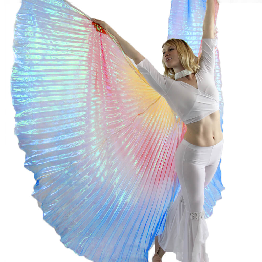 Multi-color Angel Wing