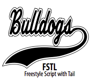 Freestyle Script with Tail
