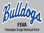 Freestyle Script Vertical Arch