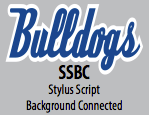 Stylus Script Background Connected