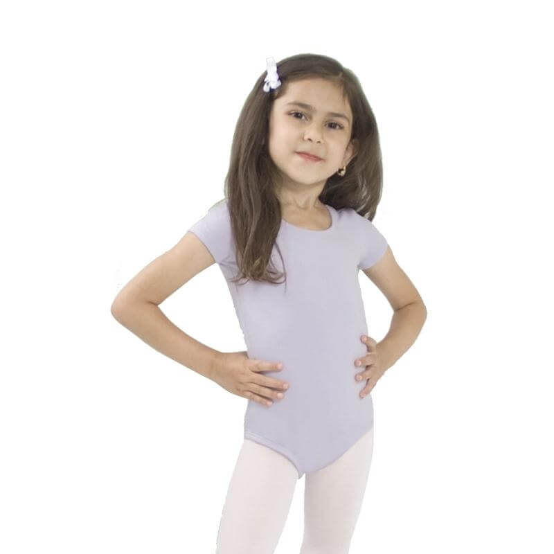BasicMoves Children Basic short sleeves leotard
