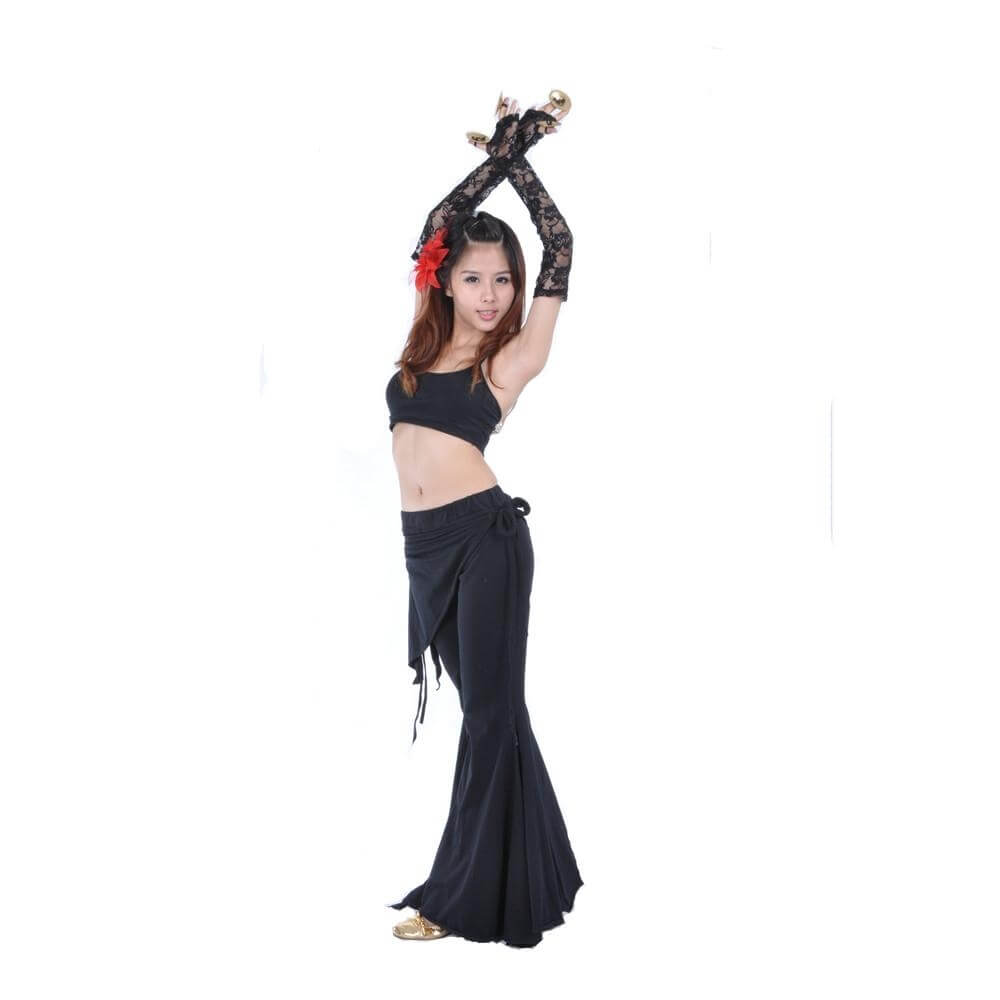 Danzcue belly dance Lace gloves Black