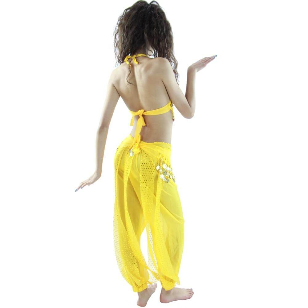 Little chili 5 piece Children Belly Dance Costume - Click Image to Close