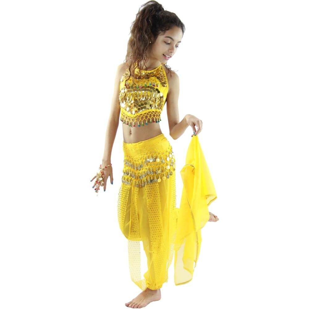 Little chili 5 piece Children Belly Dance Costume  sc 1 st  Danzia : gypsy kid costume  - Germanpascual.Com