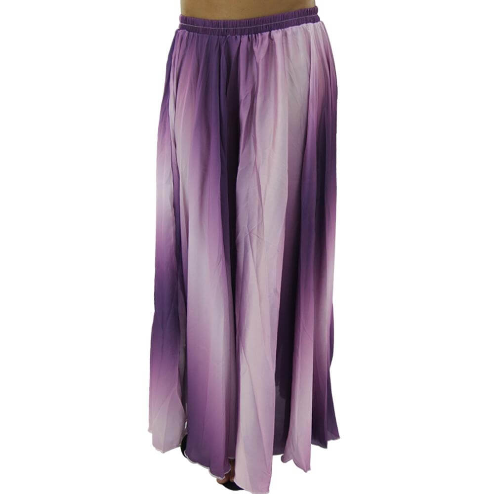 Fashion Gradient Colors Belly Dance Skir