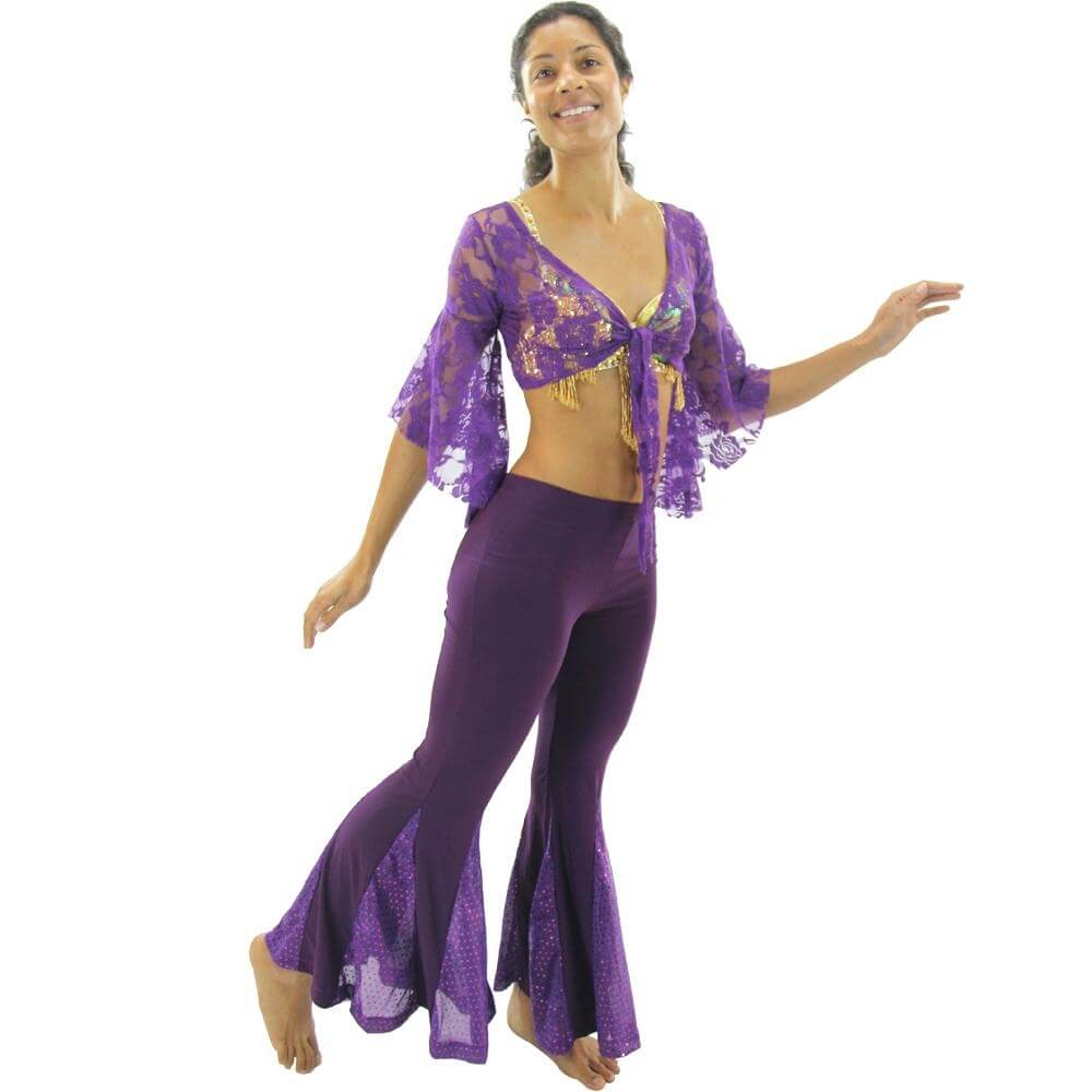 Elegant butterfly 2-Piece Belly Dance Costume