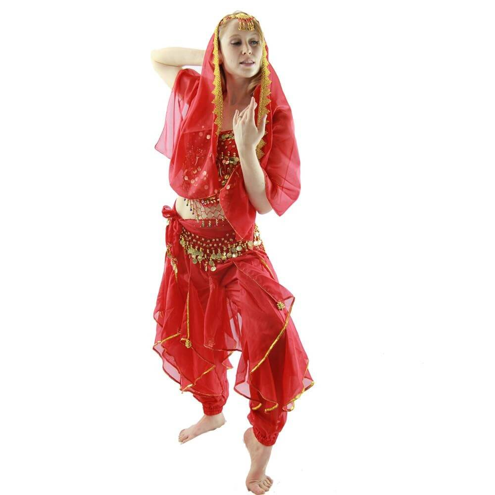 Little chilli 5-Piece Belly Dance Costume - Click Image to Close