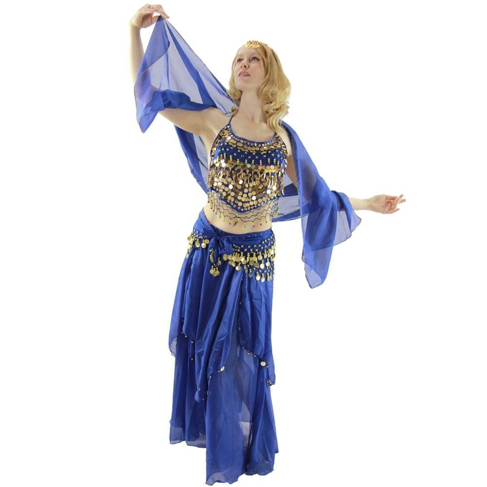 Belly Dance Costume 5-Piece Set  sc 1 st  Danzia & Costumes: halloween costumes dance shoes costumes for kids belly ...