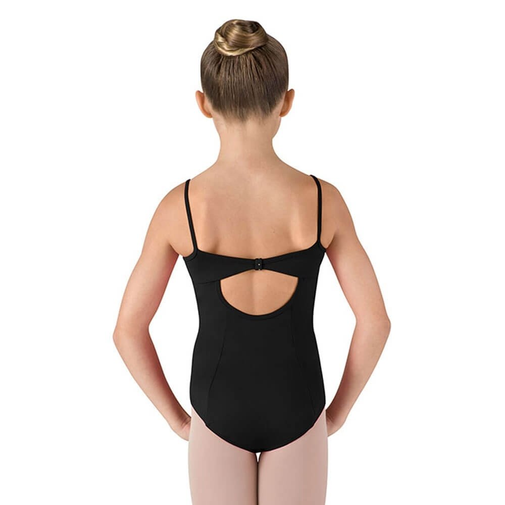 Bloch Child Floral Lace Wide Strap Camisole Leotard