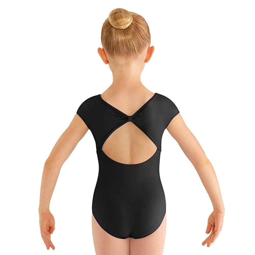 Bloch Child Bow Back Cap Sleeve Leotard