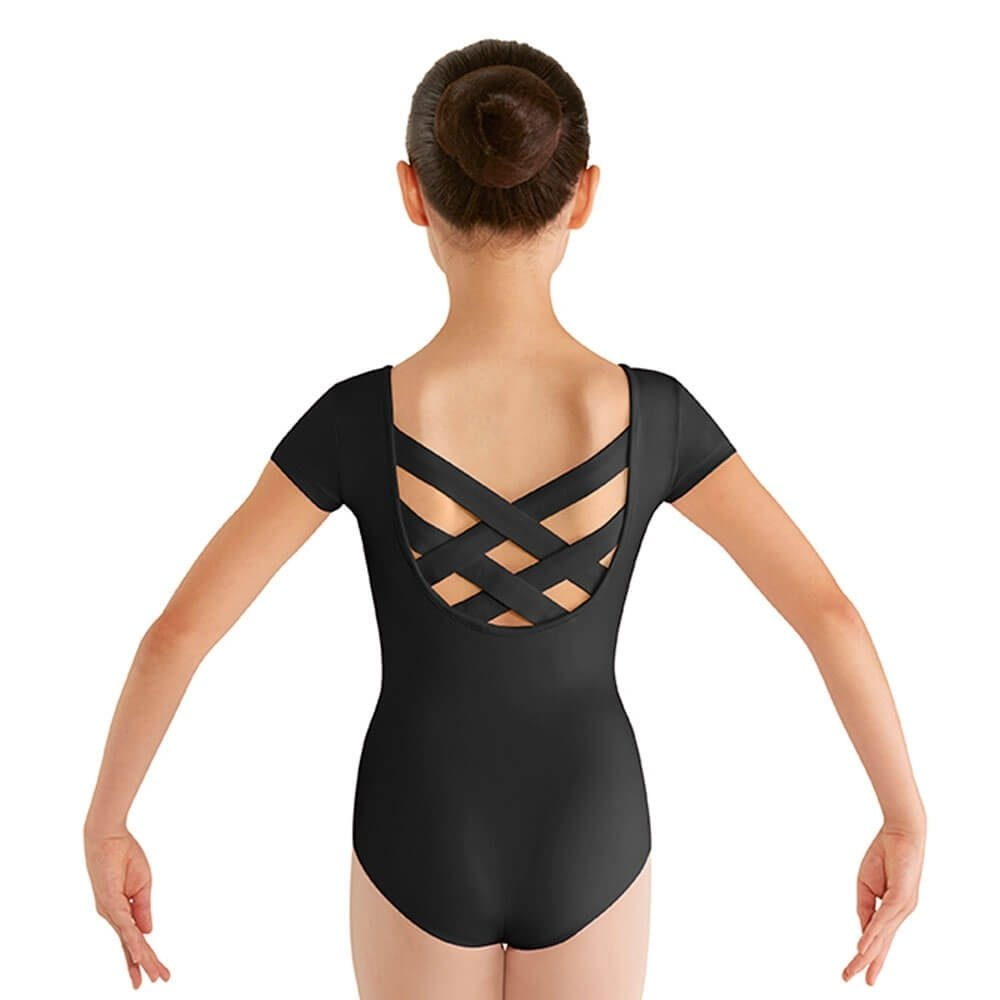 Bloch Child Strap Back Cap Sleeve Leotard