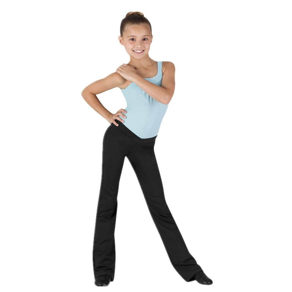 "Bloch Child ""Raquel"" V-Front Jazz Pant"