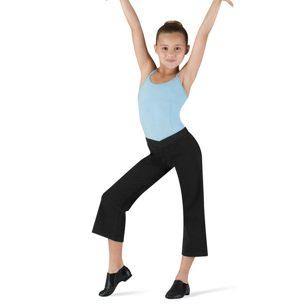 Bloch Child V-front Capri Jazz Pant