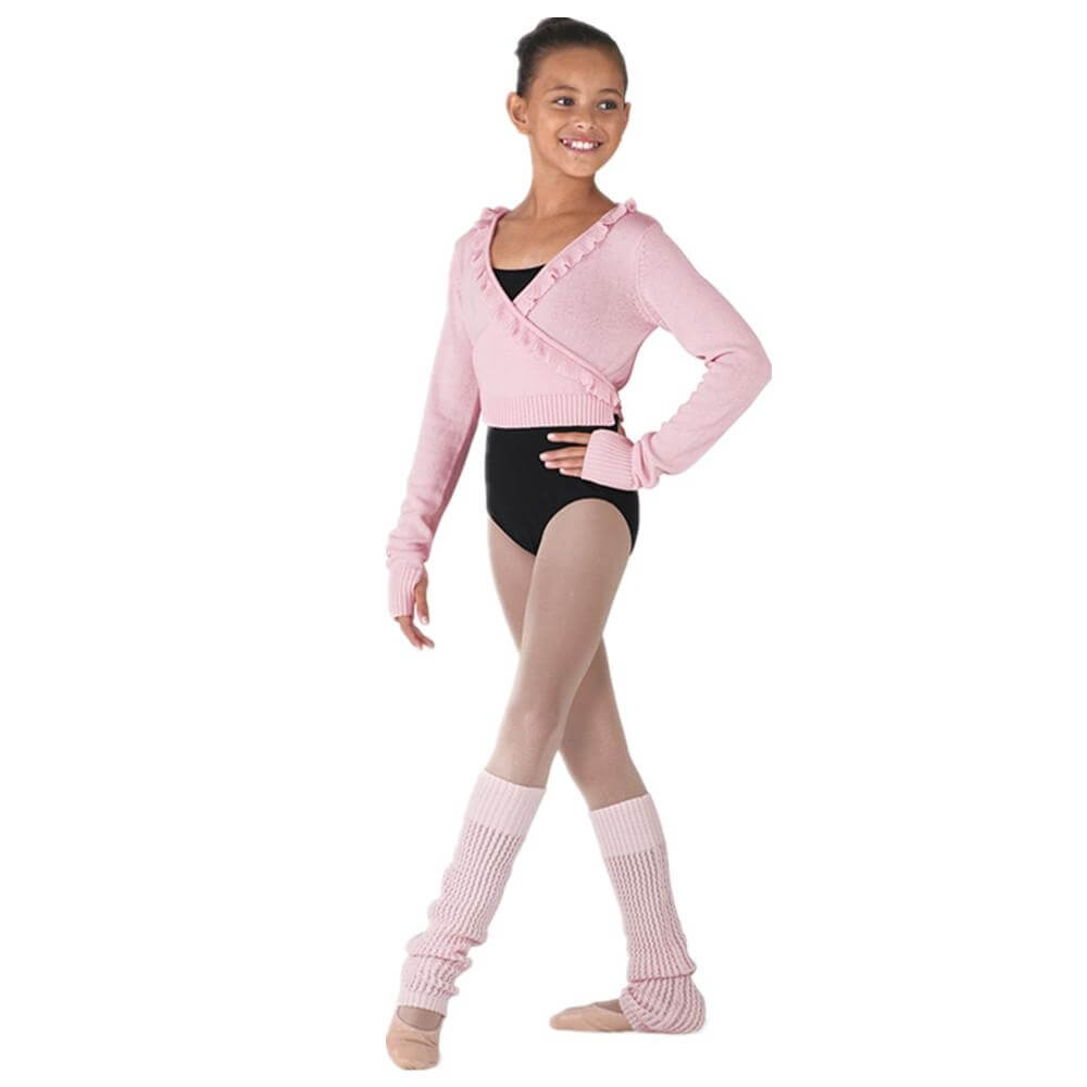 "Bloch Child ""NYOS"" Wrap Jumper"