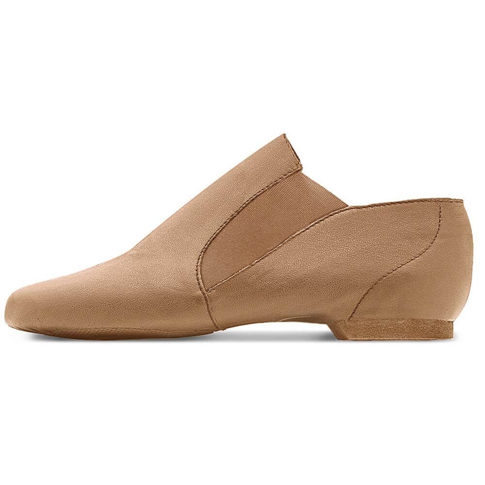 Bloch Adult Dance Leather Jazz Bootie