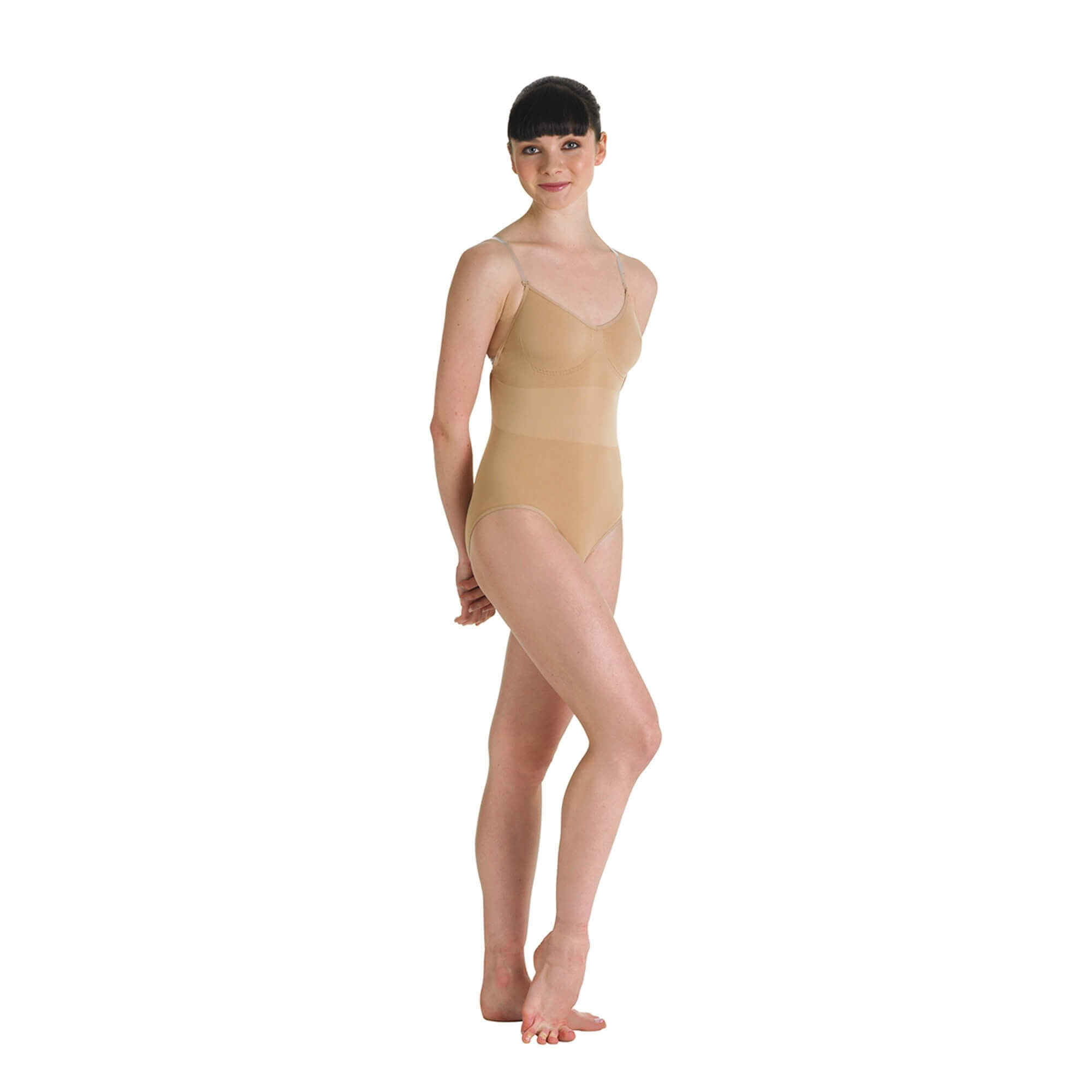 "Bloch Adult ""Aries"" Seamless Brief Body Suit"