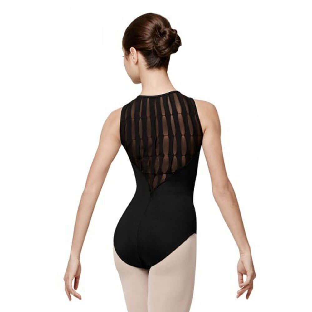 Bloch Laguna Pintuck Box Pleat Back Tank Leotard