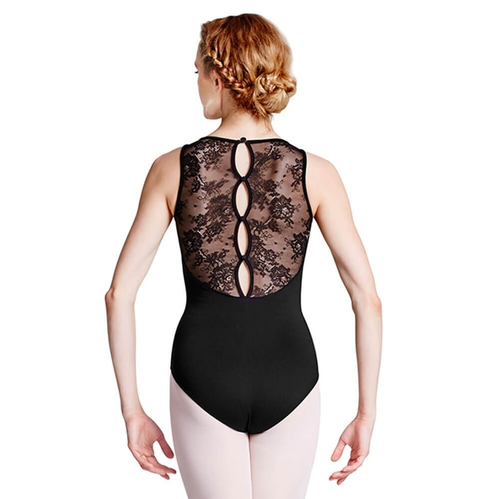 Bloch Floral Lace Tank Leotard
