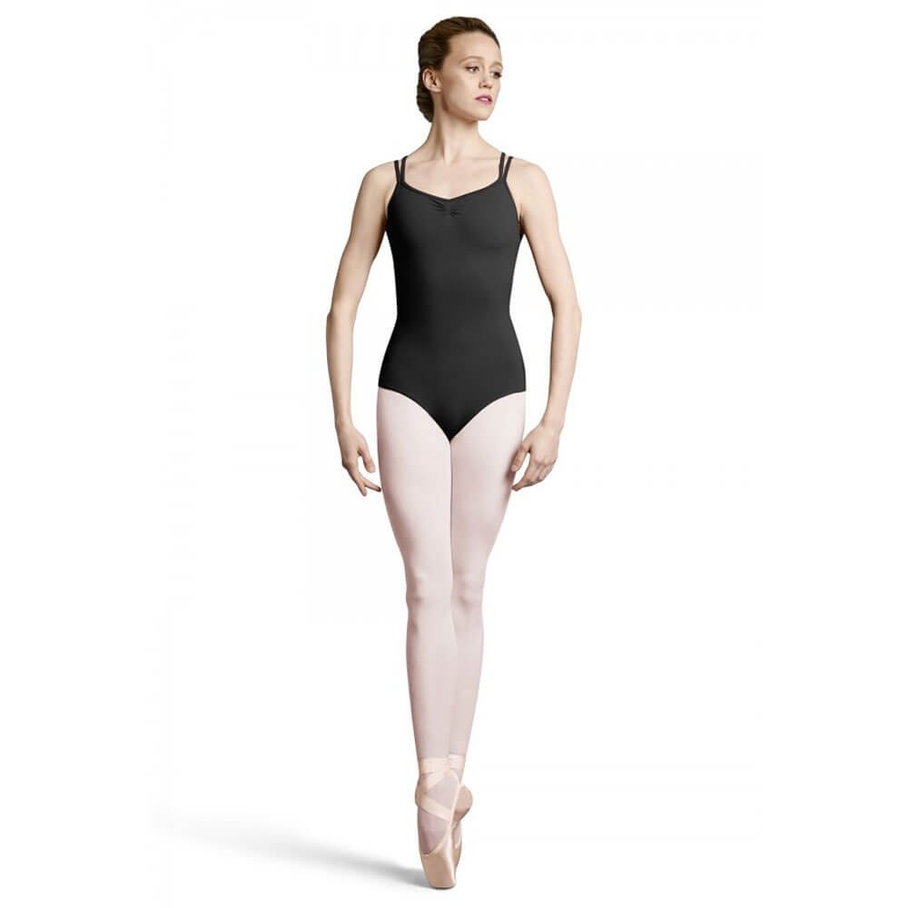 Bloch Adult Lace-Up Action Back Double Strap Camisole Leotard
