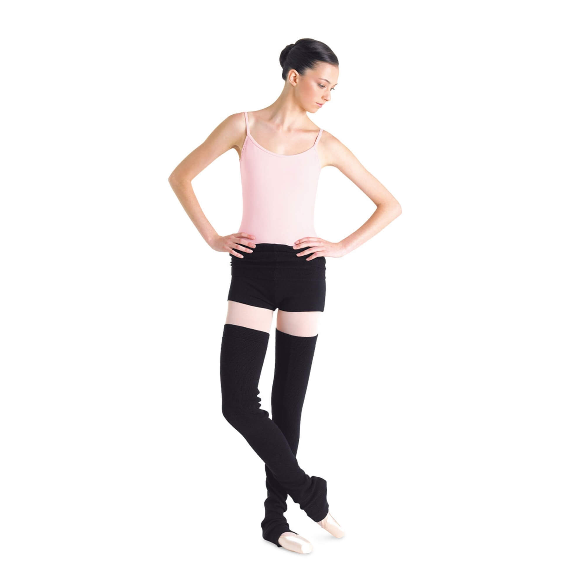 Bloch Adult Roll Over Warm-up Shorts