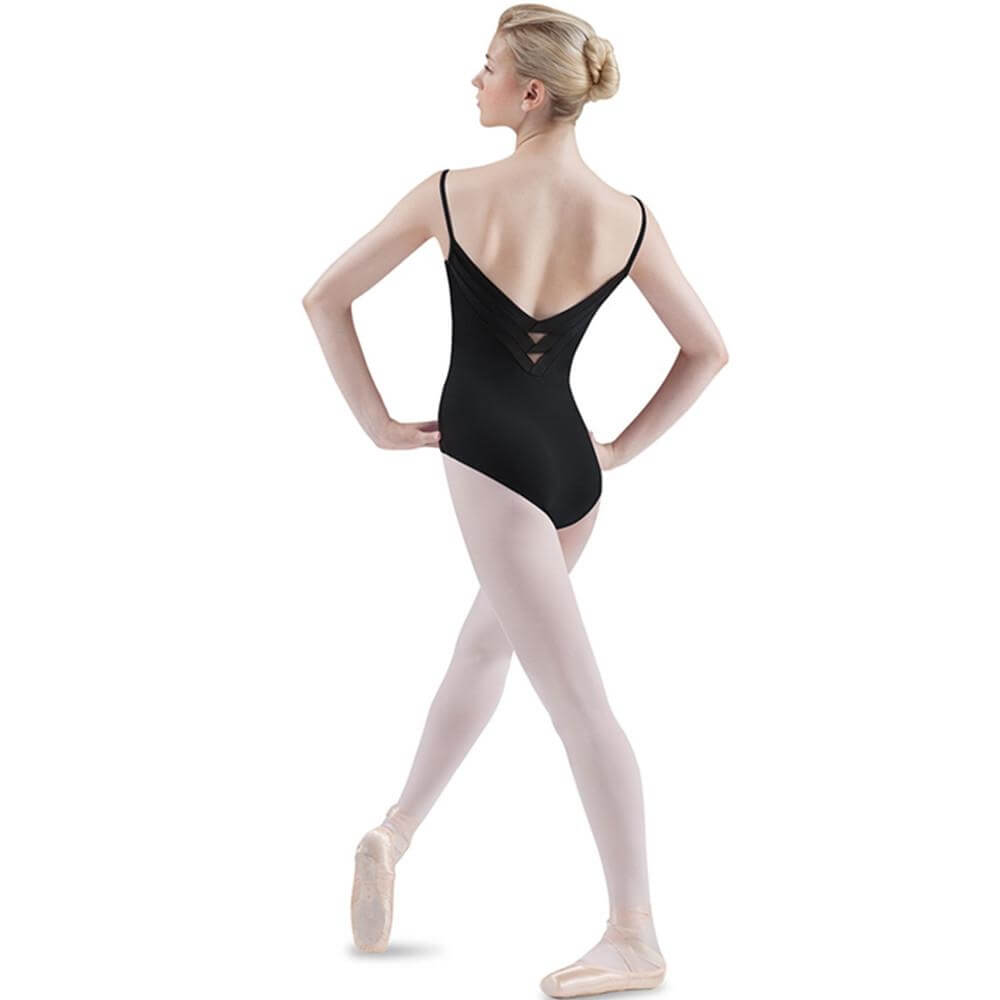 Bloch Adult Chevron Band Comisole Leotard