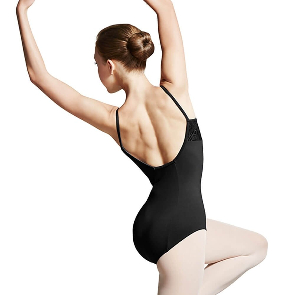 Bloch Peacock Plume Bust Camisole Leotard