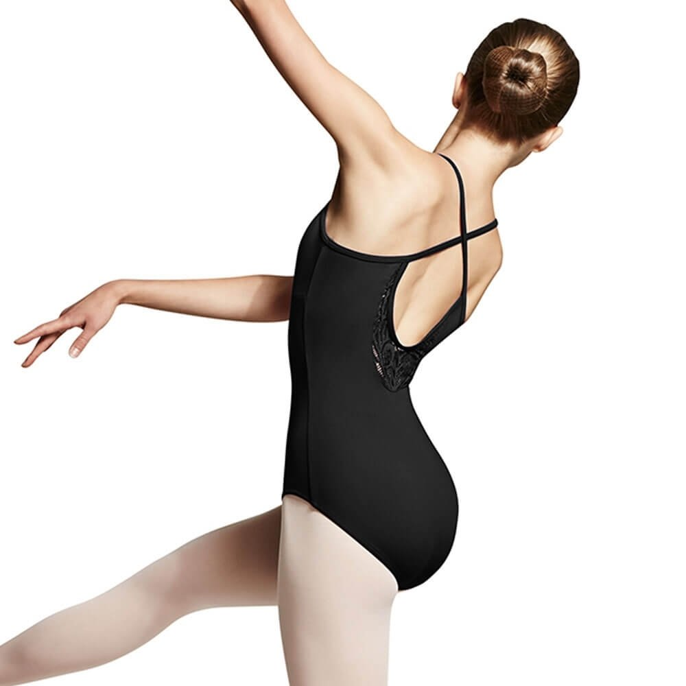 Bloch Peacock Plume High Neck Cross Back Leotard