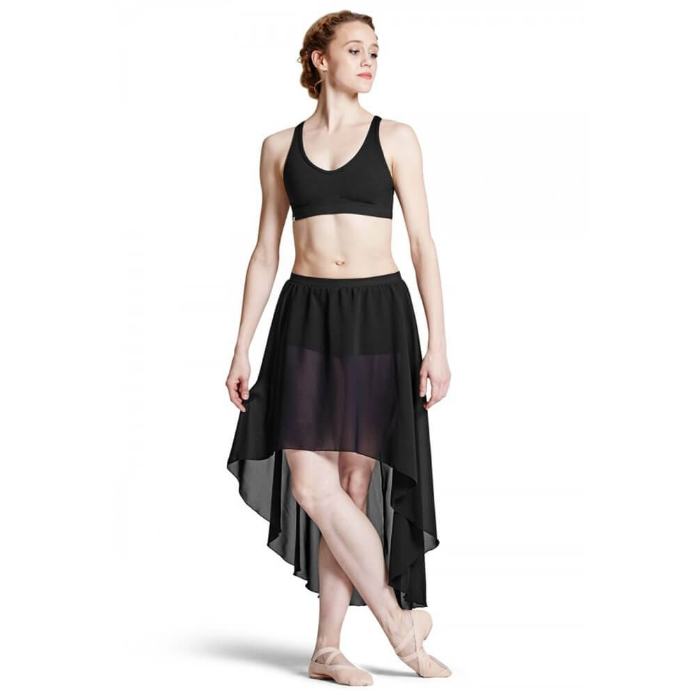 Bloch Adult Daria Hi-Low Georgette Skirt