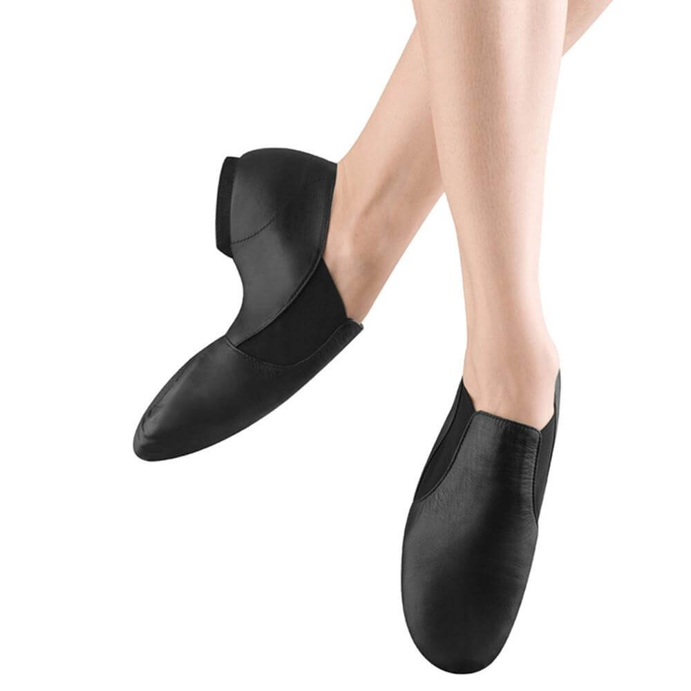 Bloch Adult Elasta Bootie Jazz Shoes
