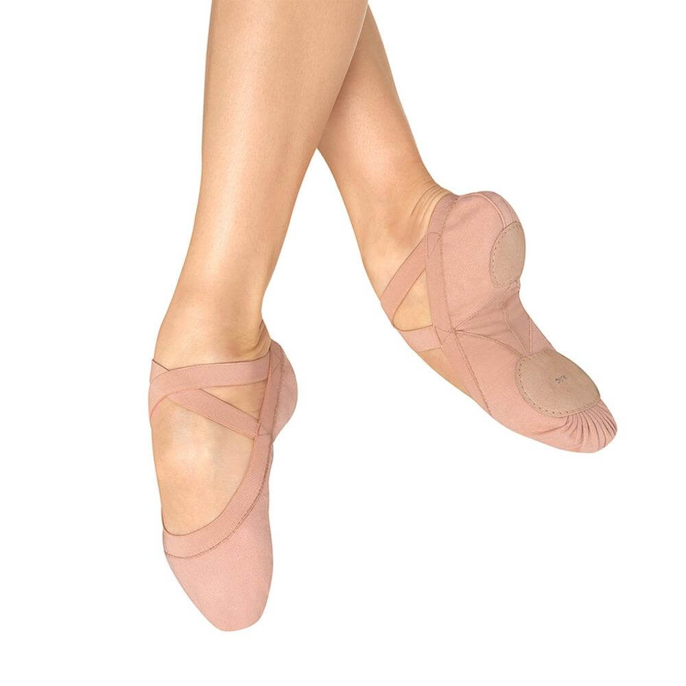 "Bloch Adult ""Pro elastic\"" Ballet Slippers"