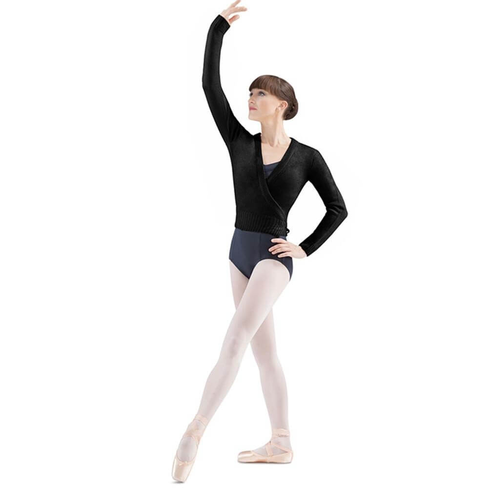 "Bloch Adult ""Darlene"" Cross Over Knit Cardigan"