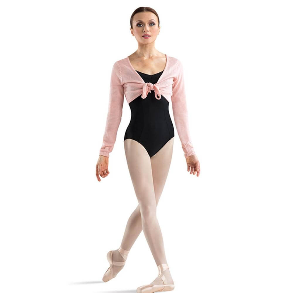 "Bloch Adult ""Jessie"" Crop Tie Front Top"
