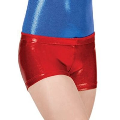 Perfect Balance Child Basic Metallic Short