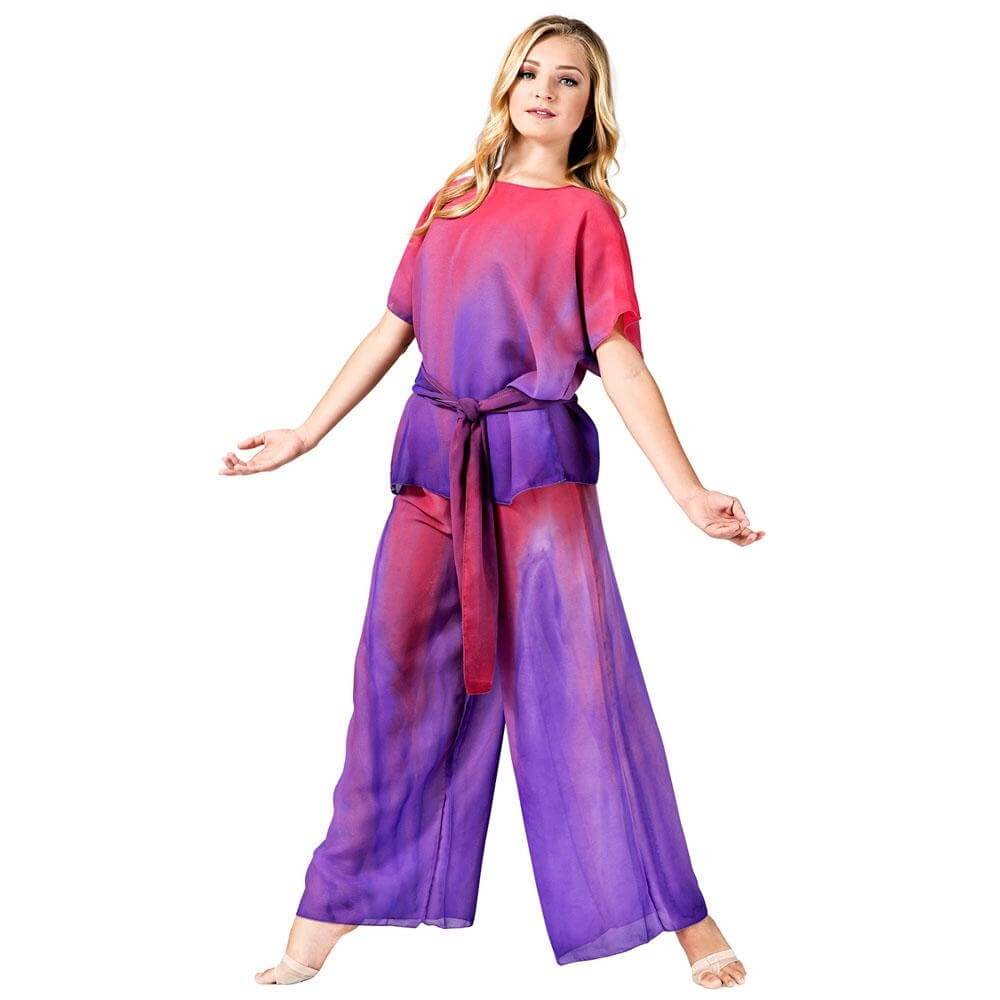 Watercolour Unisex Worship Short Sleeve Tunic