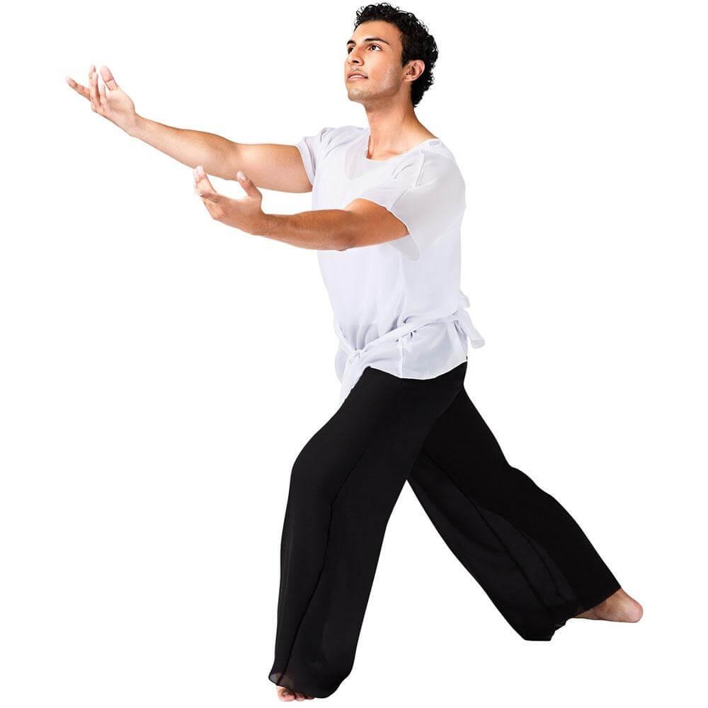 Watercolour Unisex White Short Sleeve Worship Tunic