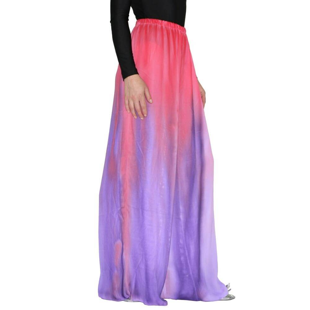 Watercolour Women's Worship Long Skirt