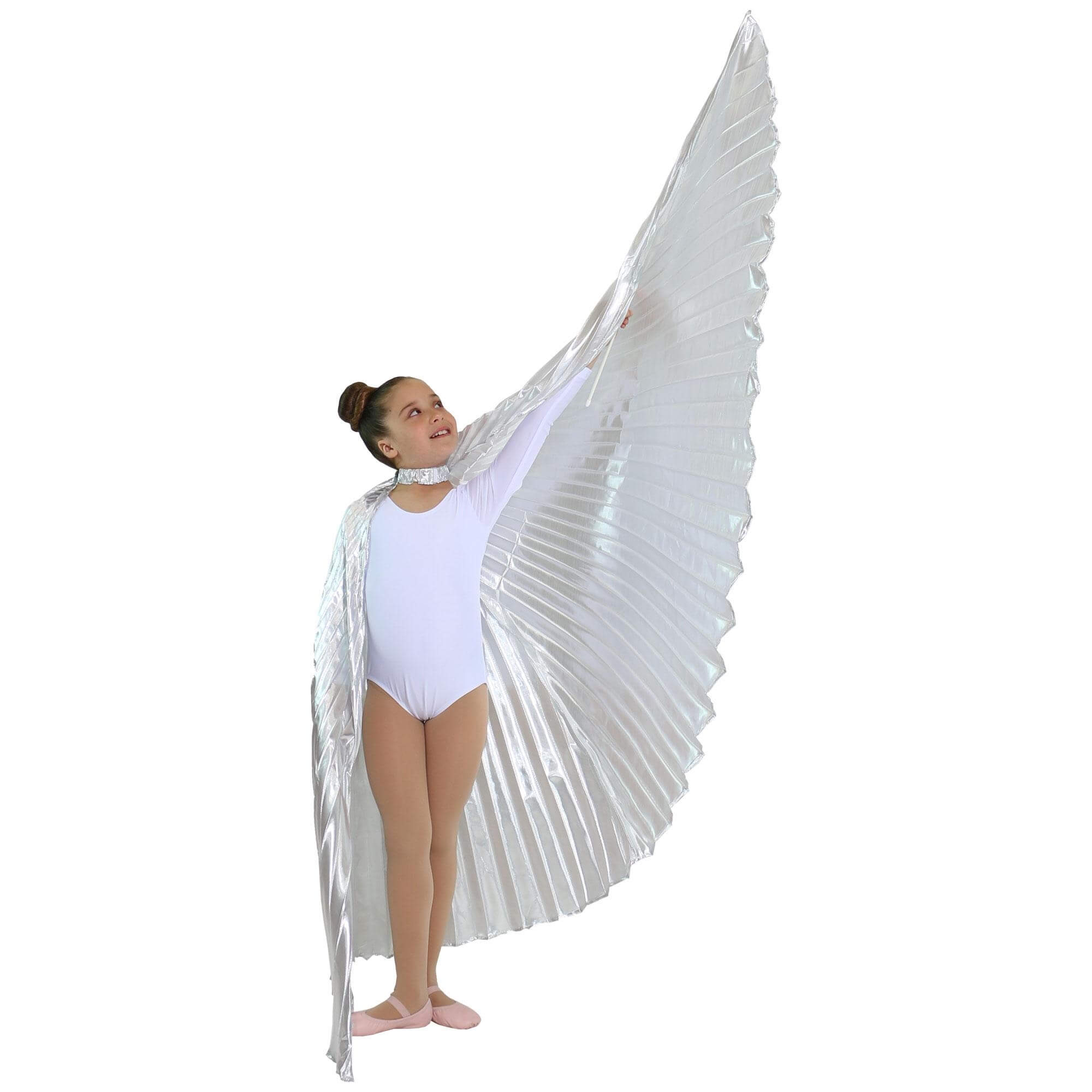 iridescent white worship angel wingiridescent white worship angel wing click image to close