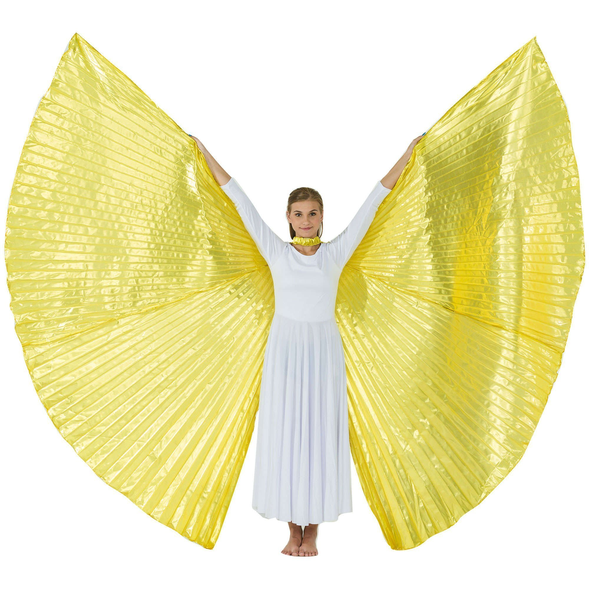Opening Gold Worship Angel Wing